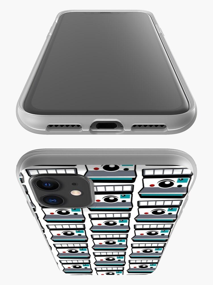 Alternate view of Retro Instant Camera iPhone Case & Cover