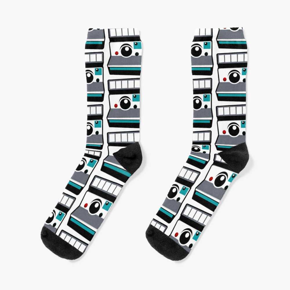 Retro Instant Camera Socks