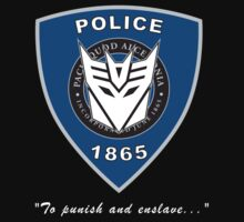 Transformers - Police Logo - Medium Size Logo
