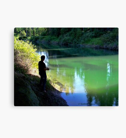 A Small Haven Canvas Print