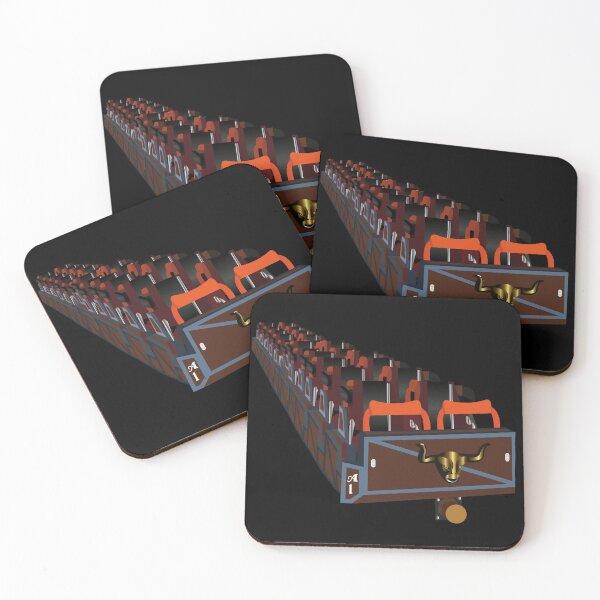 El Toro Train Coasters (Set of 4)