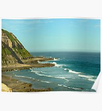Bar Beach Seaview, NSW Poster