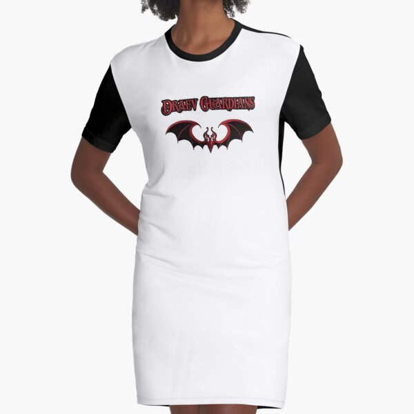 Draev Guardians wing symbol Graphic T-Shirt Dress