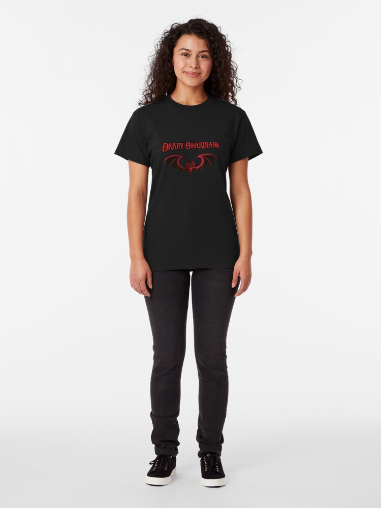 Alternate view of Draev Guardians wing symbol Classic T-Shirt