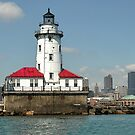 Lighthouse..The Entrance to the City by Karen Goad