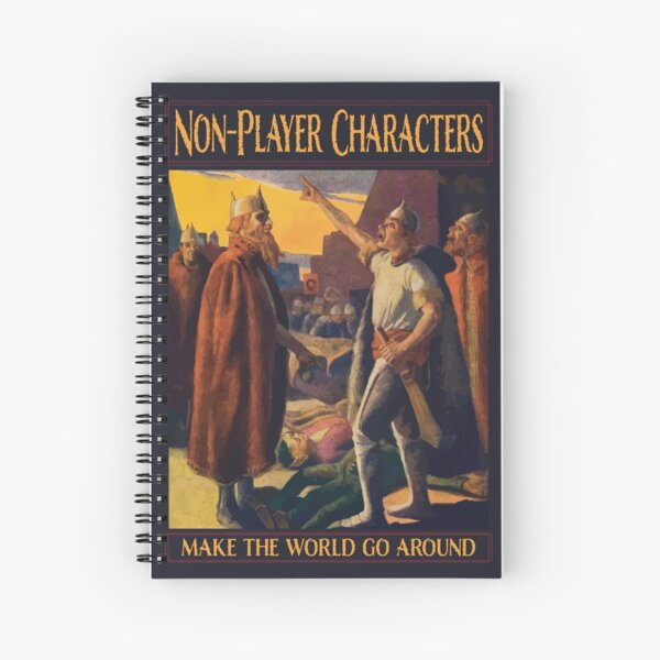 Personnages non-joueurs (NPC) - Faites tourner le monde Cahier à spirale