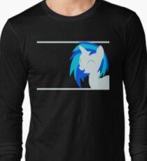 VinylScratch sillhouette Long Sleeve T-Shirt