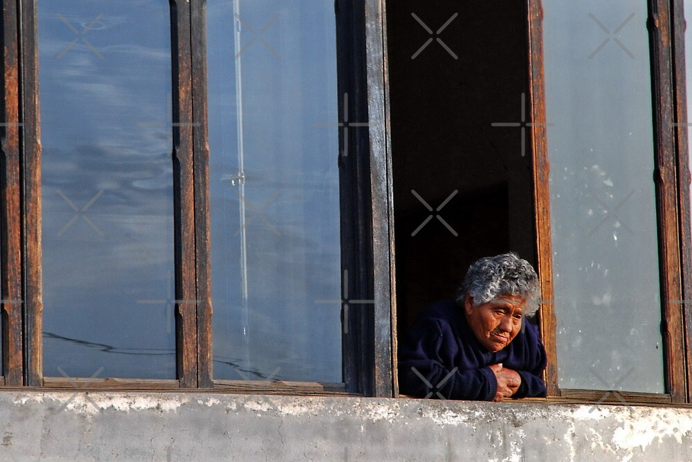 Old Lady by the Window by Alessandro Pinto