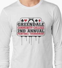 Greendale Paintball Tournament Long Sleeve T-Shirt