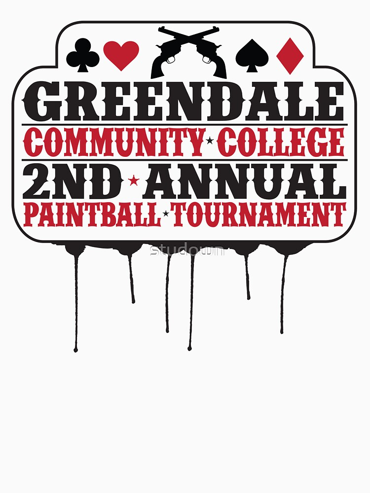 Greendale Paintball Tournament | Unisex T-Shirt