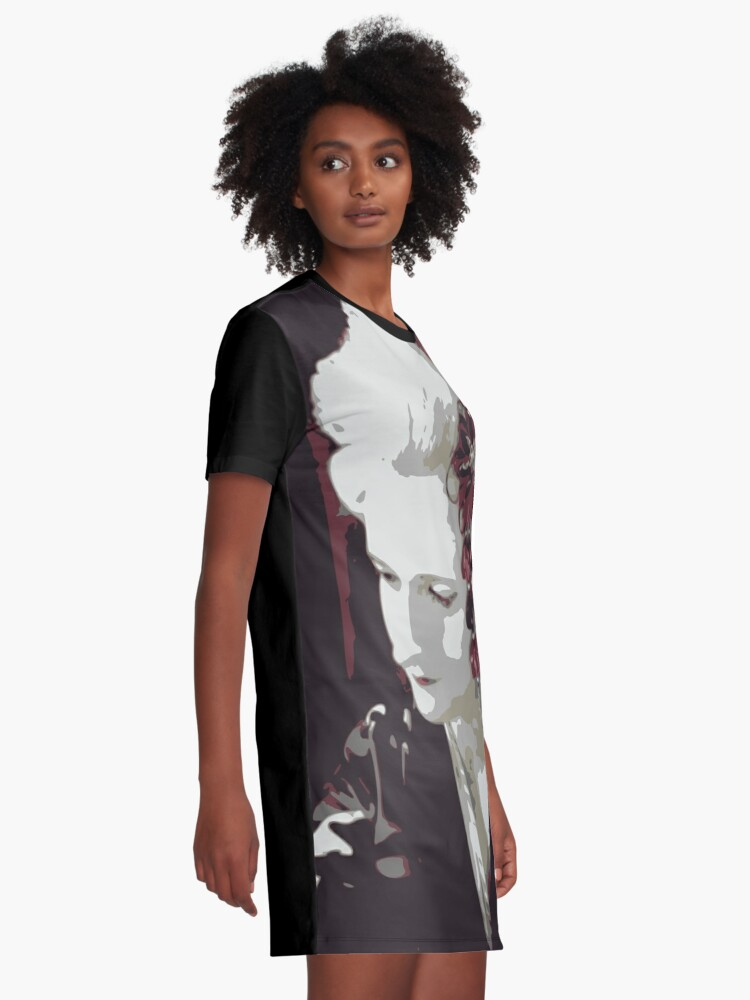Alternate view of submissive Geisha Graphic T-Shirt Dress