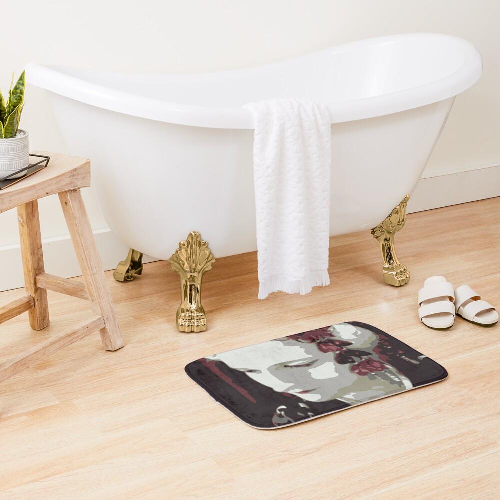 submissive Geisha Bath Mat