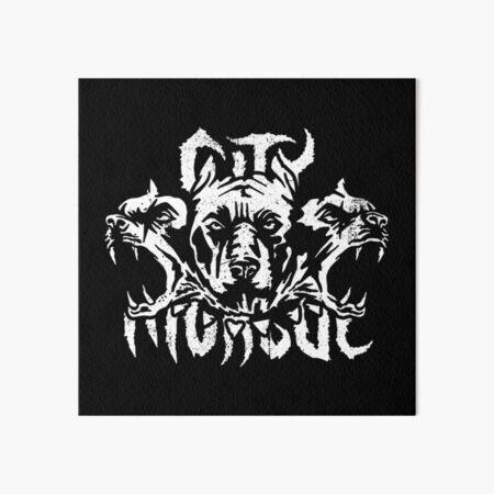 Three Hell's Dogs Art Board Print