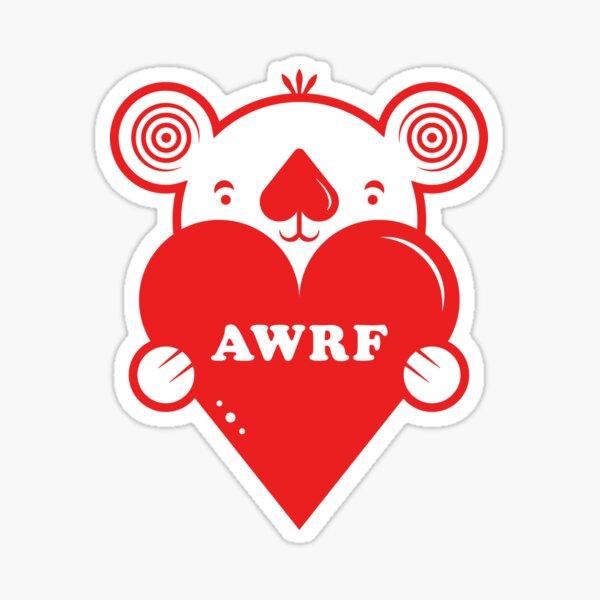 Australian Wildfires Relief Fund Koala Heart Sticker