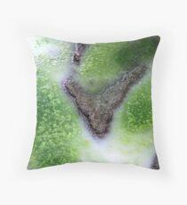 Green survival Throw Pillow