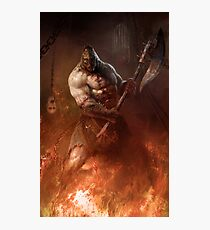 Infernal executioner Photographic Print
