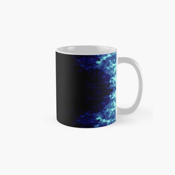 batik style ice flower Classic Mug