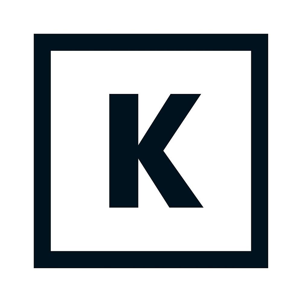 "Alphabet ""K"" by Hell-Prints"