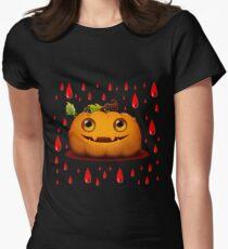 Halloween Pumpkin Women's Fitted T-Shirt