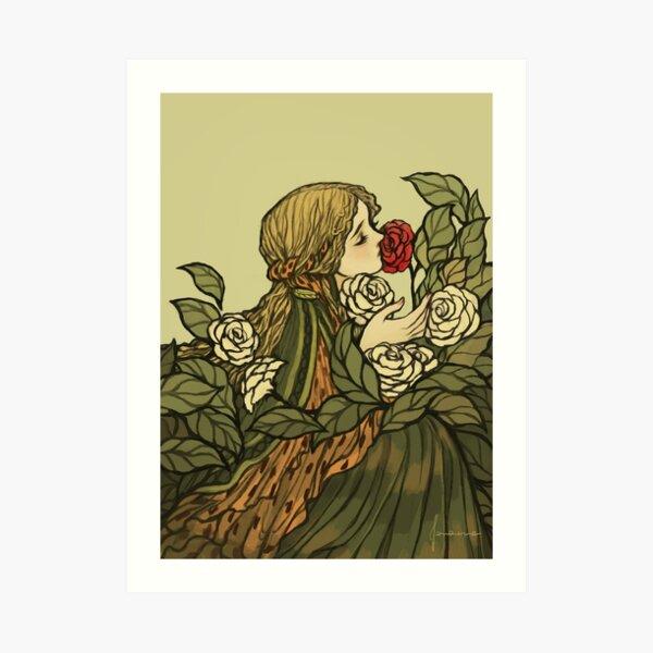 O Saber das Flores Art Print