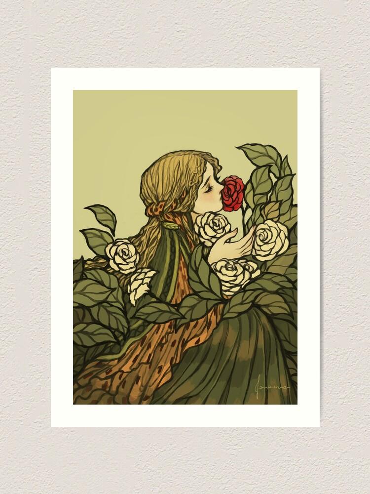 Alternate view of O Saber das Flores Art Print