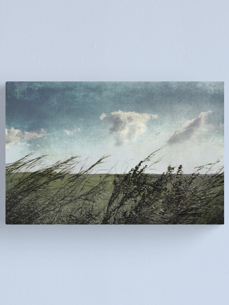 Alternate view of If the winds of winter could soothe my soul Canvas Print