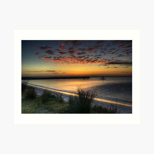 An Esperance Sunrise Art Print
