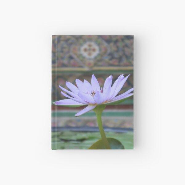 Bangkok Temple Flower Hardcover Journal