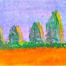 crayon on paper by kathryn burke petrillo