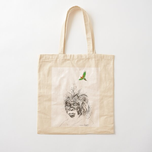 Sunkissed Sunman Cotton Tote Bag