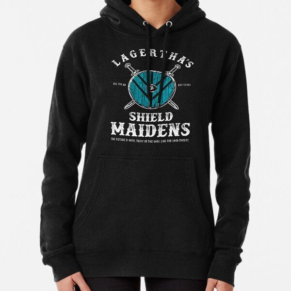 Lagerthas Shield Maidens - Viking Warrior Shieldmaiden Pullover Hoodie