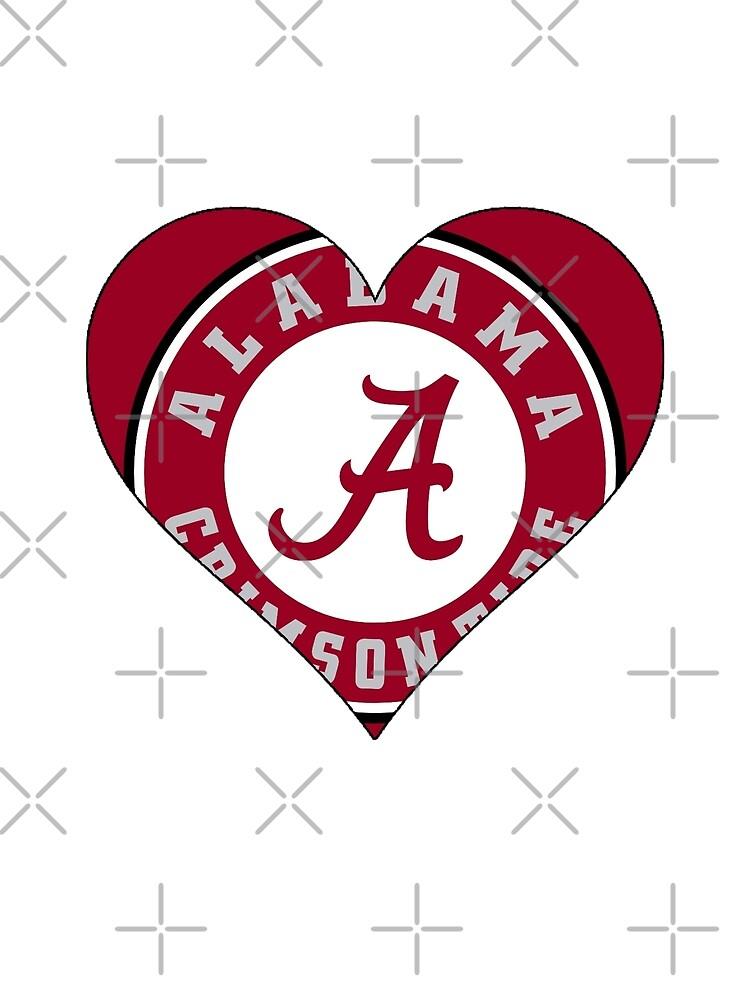Alabama Crimson Tide love by ihartjoehart