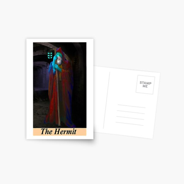 THE HERMIT Postcard