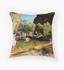 Joffre Gorge Karijini NP Throw Pillow