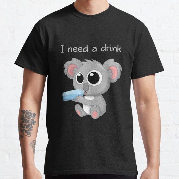 Koala Sediento Camiseta clásica