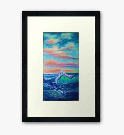Whitewater Huggies Framed Print