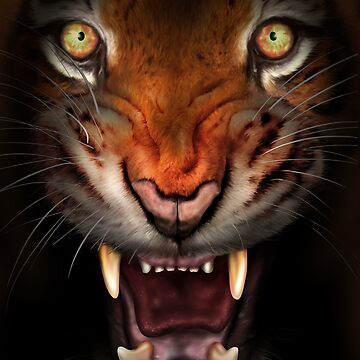 Fierce tiger by paulfleet