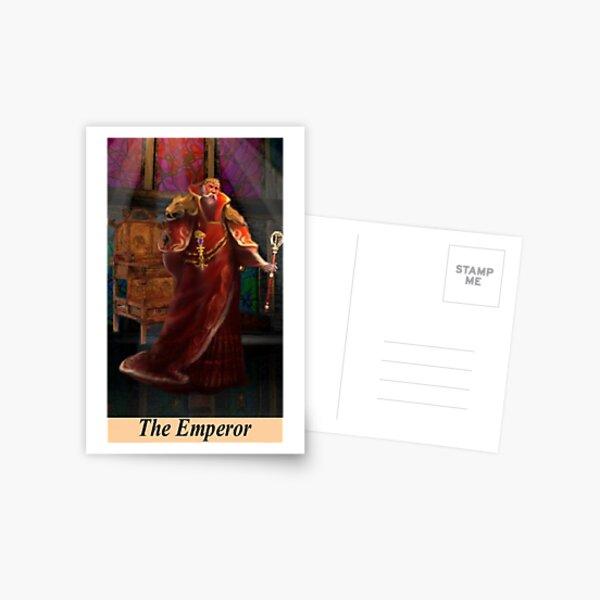 THE EMPEROR Postcard