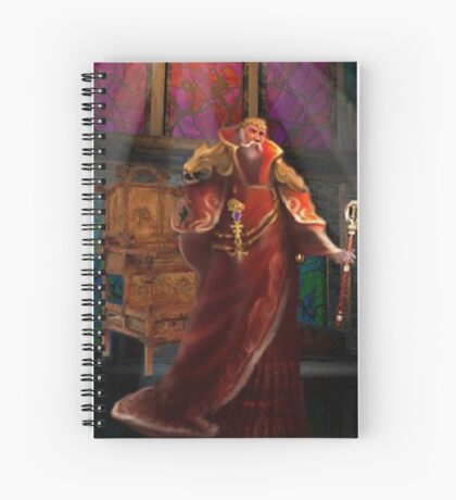 THE EMPEROR Spiral Notebook