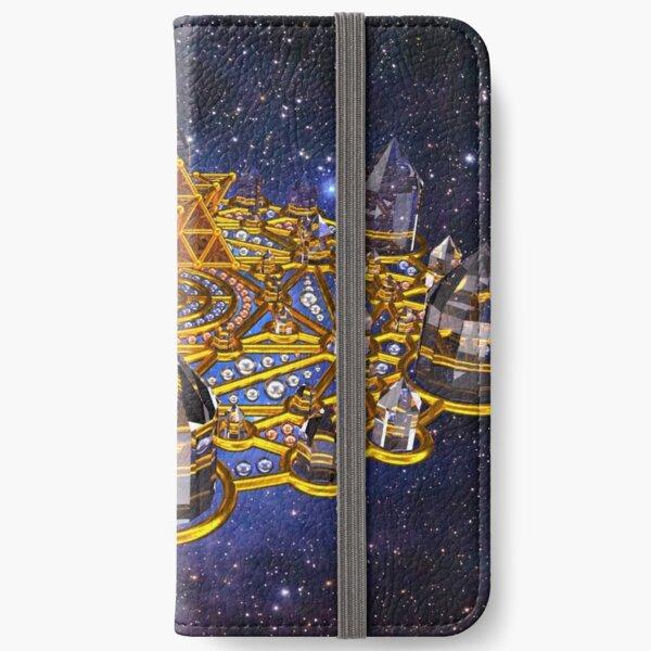 Pleiadian Lightcity Merkaba Stargate iPhone Wallet