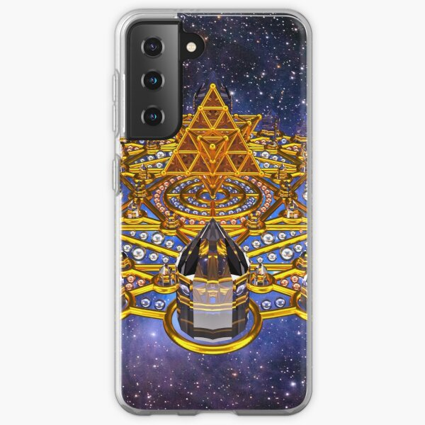 Pleiadian Lightcity Merkaba Stargate Samsung Galaxy Soft Case