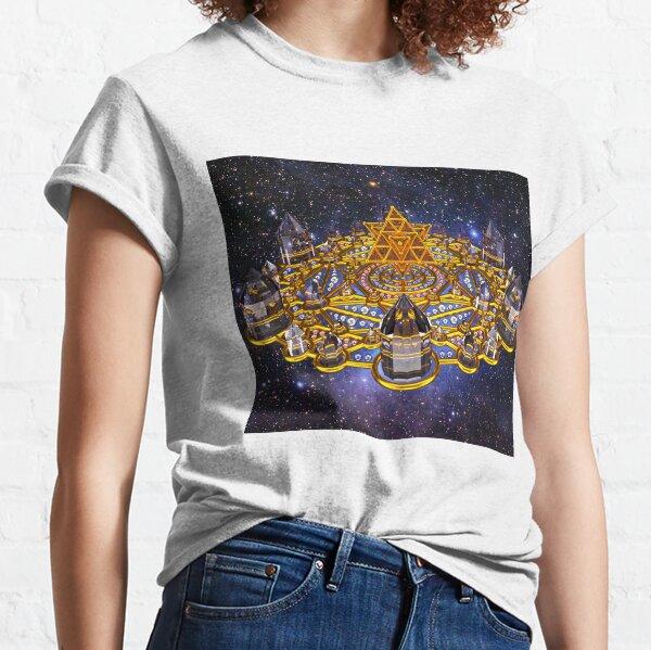 Pleiadian Lightcity Merkaba Stargate Classic T-Shirt