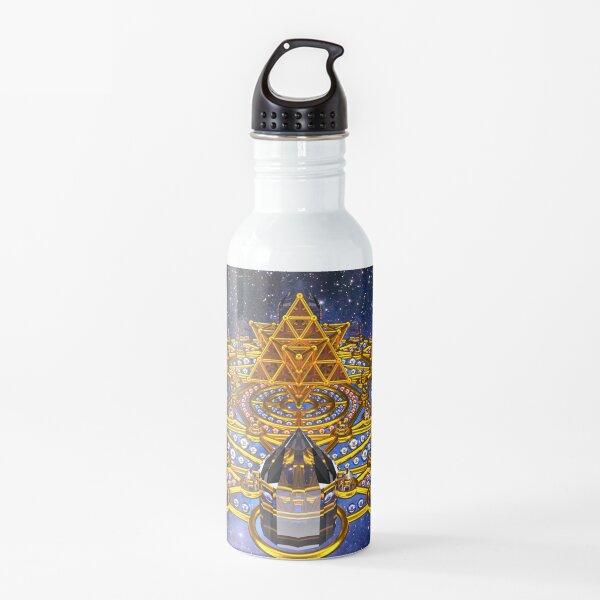 Pleiadian Lightcity Merkaba Stargate Water Bottle