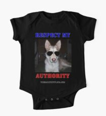 "The Daily Kitty ""Respect My Authority"" One Piece - Short Sleeve"