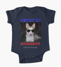 """The Daily Kitty """"Respect My Authority"""" One Piece - Short Sleeve"""