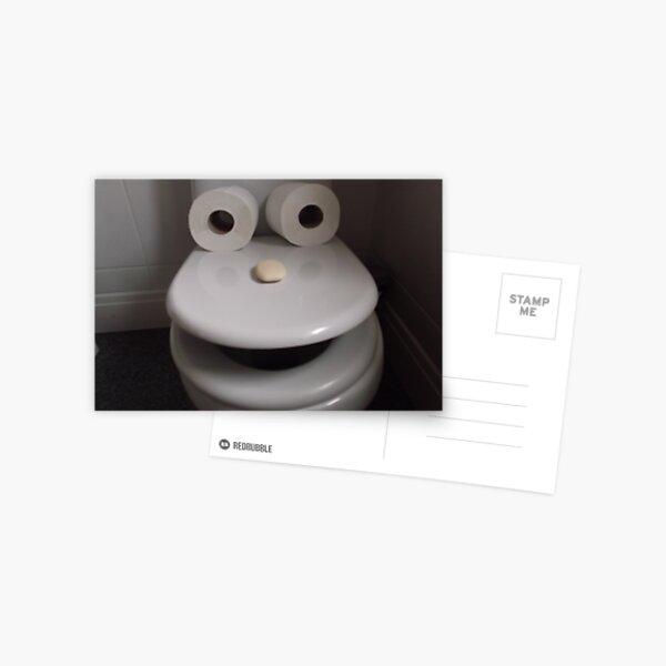 Toilet humour Postcard