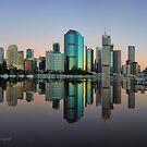Kangaroo Point - Brisbane - Australia by Soren Martensen