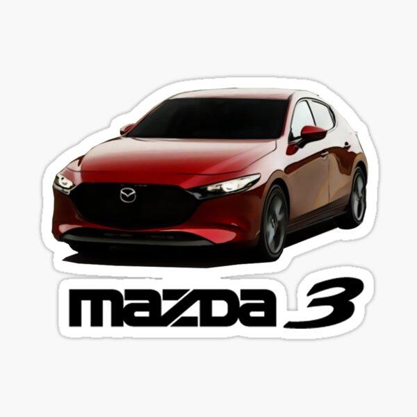 Mazda 3 2019+ Bp Pegatina