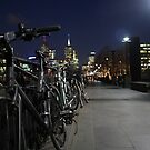 Cycles on the Yarra by Allison Sheenan