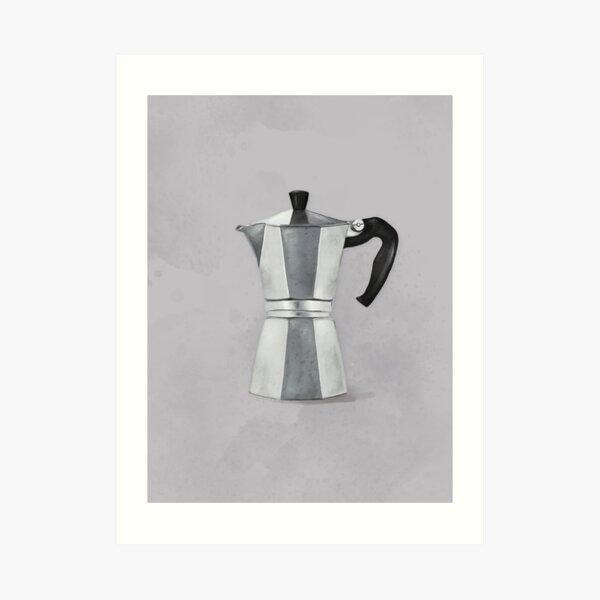 Coffee maker – Illustration Art Print